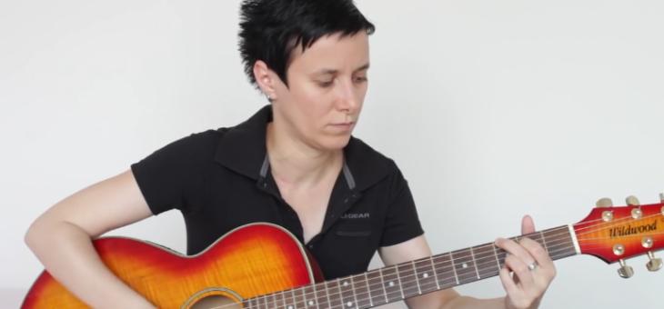 Základní akordy a rytmy pro kytaru – Eva Hosnedlová