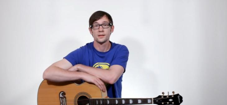 Hra na kytaru rychlokurzem – Jiří Kynčl