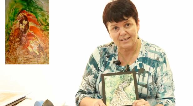 Malířská technika s voskem – Enkaustika – Jana Školaudyová