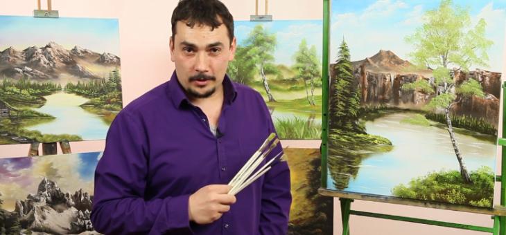 Olejomalba podle Boba Rosse – Pavel Michalica