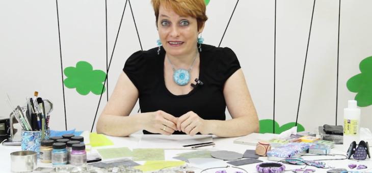 Textury a polymery s FIMO – Monika Brýdová
