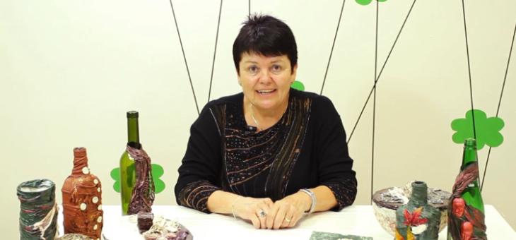 Polyesterová kapalina Powertex – Jana Školaudyová