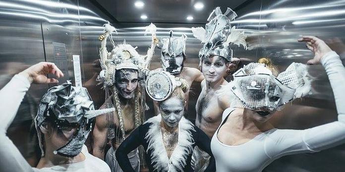Divadelní kostým a maska