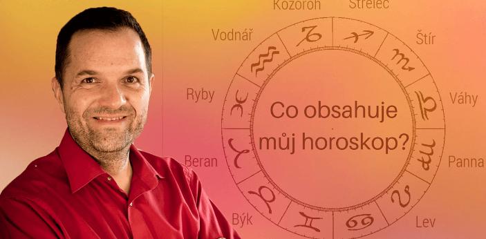 Co obsahuje můj horoskop?