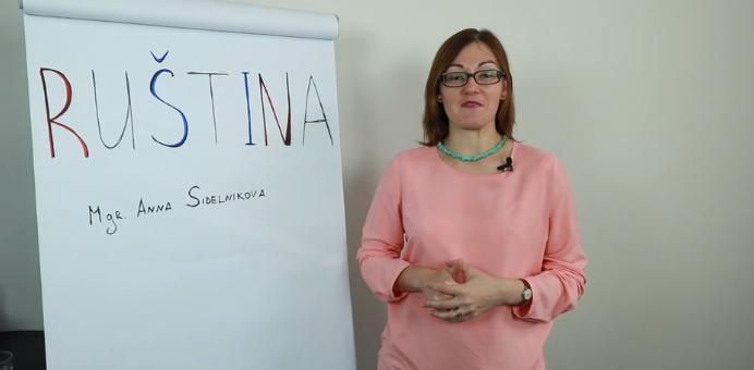 Základy ruštiny pro začátečníky – Anna Sidelnikova