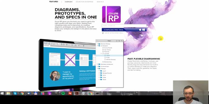 Jak na interaktivní prototyp webu v Axure RP