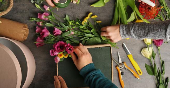 Květinové aranžování – Markéta Keclíková