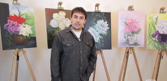 Chci malovat – květiny krok za krokem
