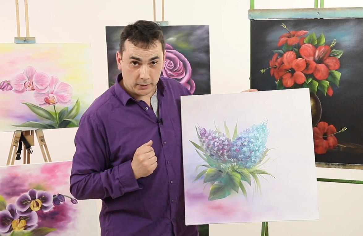 Jak malovat květiny